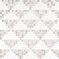 Giza Oro Bianco mosaic | Mosaici vetro | Bisazza