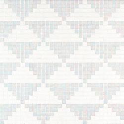 Giza Bianco mosaic | Glass mosaics | Bisazza