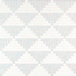 Giza Bianco mosaic | Mosaïques verre | Bisazza