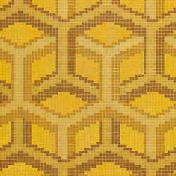 Suite Oro Giallo mosaic | Glass mosaics | Bisazza
