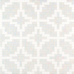 Etoiles Bianco mosaic | Mosaicos | Bisazza
