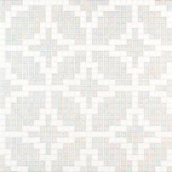 Etoiles Bianco mosaic | Glass mosaics | Bisazza