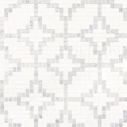 Etoiles Oro Bianco mosaic | Mosaici in vetro | Bisazza