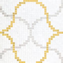 Liaisons Bianco mosaic | Mosaici vetro | Bisazza