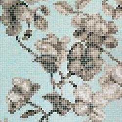 Hanami Azzurro A/B mosaic | Glas Mosaike | Bisazza
