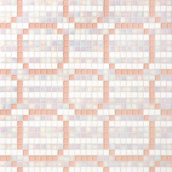 Rings Pink mosaic | Glass mosaics | Bisazza