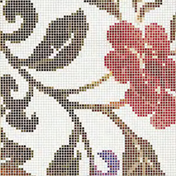 Summer Flowers B mosaic | Wandmosaike | Bisazza