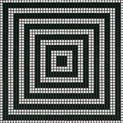 Wengé Nero mosaic | Glass mosaics | Bisazza