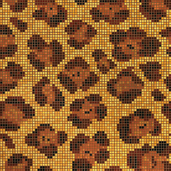 Leopard mosaic | Mosaici in vetro | Bisazza