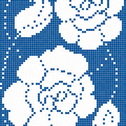 Zante Blu mosaic | Glass mosaics | Bisazza