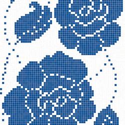 Zante Bianco mosaic | Glass mosaics | Bisazza