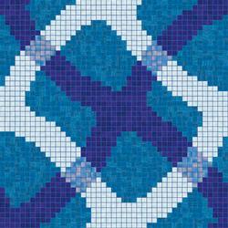 Mirage Blu mosaic | Mosaicos | Bisazza