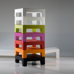 Jut table 60 | Tavolini bassi | Vondom