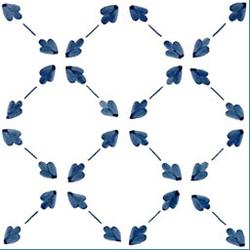 Palmetta Turchese 20x20 | Wall tiles | Giovanni De Maio