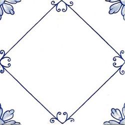 Sofia Azzurro 20x20 | Wall tiles | Giovanni De Maio