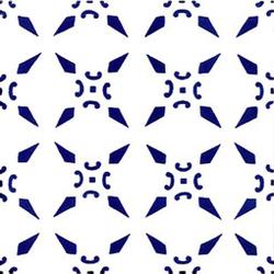 Cristalli Blu 20x20 | Carrelage mural | Giovanni De Maio