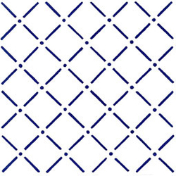 Bastoncello Blu 20x20 | Wall tiles | Giovanni De Maio