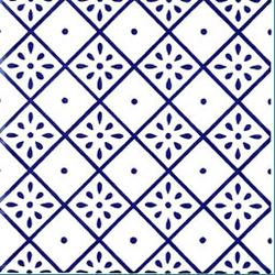 Giglio MF Blu 20x20 | Wall tiles | Giovanni De Maio