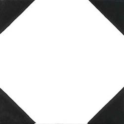 Quattro Angoli Nero 20x20 | Wall tiles | Giovanni De Maio