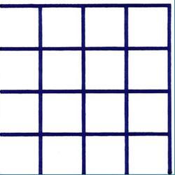 Rete Grande Blu 20x20 | Wall tiles | Giovanni De Maio