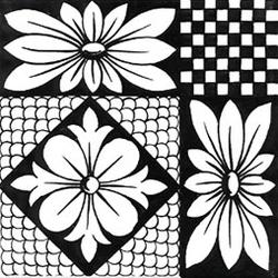 Dama Nero 20x20 | Wall tiles | Giovanni De Maio