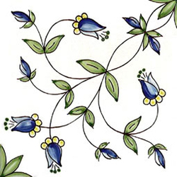 Gilda Blu 20x20 | Azulejos de pared | Giovanni De Maio