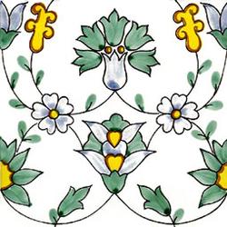 Flora 20x20 | Azulejos de pared | Giovanni De Maio
