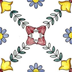 Favignana 20x20 | Azulejos de pared | Giovanni De Maio