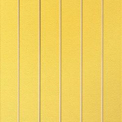 Ritmo Forma giallo 20x33.3 | Wall tiles | Iris Ceramica