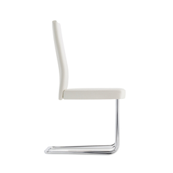 B20P Upholstered cantilever chair | Visitors chairs / Side chairs | TECTA