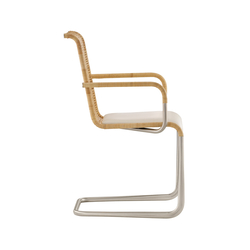 D24i Upholstered cantilever chair | Sillas | TECTA
