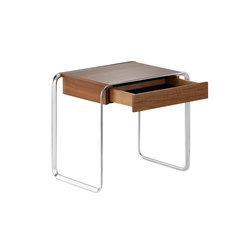 K2A Oblique-Side table with drawer | Tavolini alti | TECTA