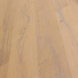Coral OAK silver brushed | white oil | Sols en bois | mafi
