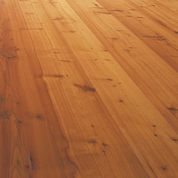 LARCH wide-plank brushed | lye treatment | natural oil | Wood flooring | mafi