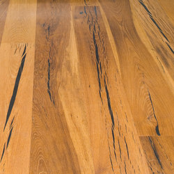 Tiger OAK black brushed | natural oil | Wood flooring | mafi