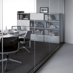 Partition M82 Crystal | Wall partition systems | Dynamobel