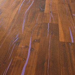 Tiger OAK Custom Colour brushed | natural oil | Wood flooring | mafi