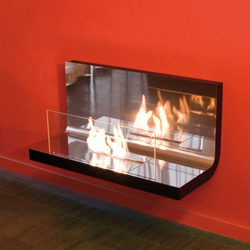 wall flame I - de haute brillance | Ventless ethanol fires | Radius Design