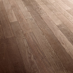 OAK Vulcanino brushed | white oil | Wood flooring | mafi
