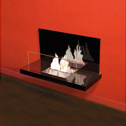 wall flame II - de haute brillance | Ventless ethanol fires | Radius Design