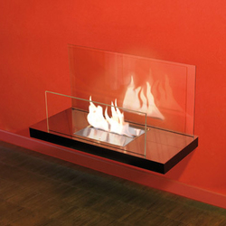 wall flame II | Ventless ethanol fires | Radius Design