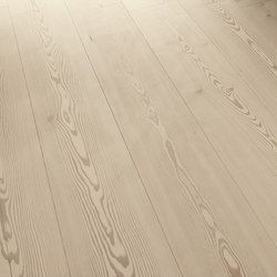 LARCH wide-plank brushed | lye treatment | white oil | Wood flooring | mafi