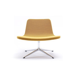 Ray Lounge Swivel Base | Loungesessel | Hay