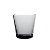 Kartio Tumbler 21cl grey | Water glasses | iittala