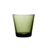 Kartio Tumbler 21cl moss green | Water glasses | iittala