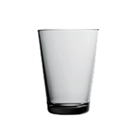 Kartio Tumbler 40cl grey | Water glasses | iittala