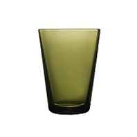 Kartio Tumbler 40cl moss green | Water glasses | iittala