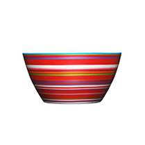 Origo bowl 0.5l red | Bowls | iittala