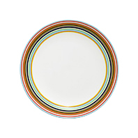 Origo plate 26cm orange | Dinnerware | iittala