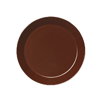 Teema plate 26cm brown | Services de table | iittala